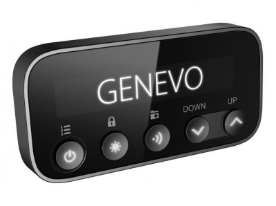 Radar detector Genevo PRO (display) - a built-in set with a detachable display and integrated Genevo HD+ or HDM+ radar antenna.