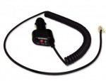 Coiled SmartCord - provides a cleaner look and extra length. (Works with all current Beltronics radar detectors)
